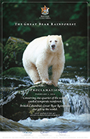 Poster: The Great Bear Rainforest Commemorative Poster